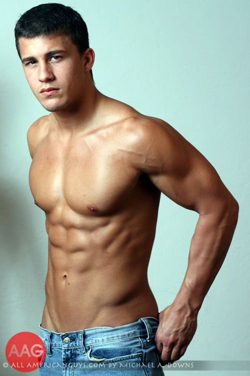 Latino Male Model – Anthony C