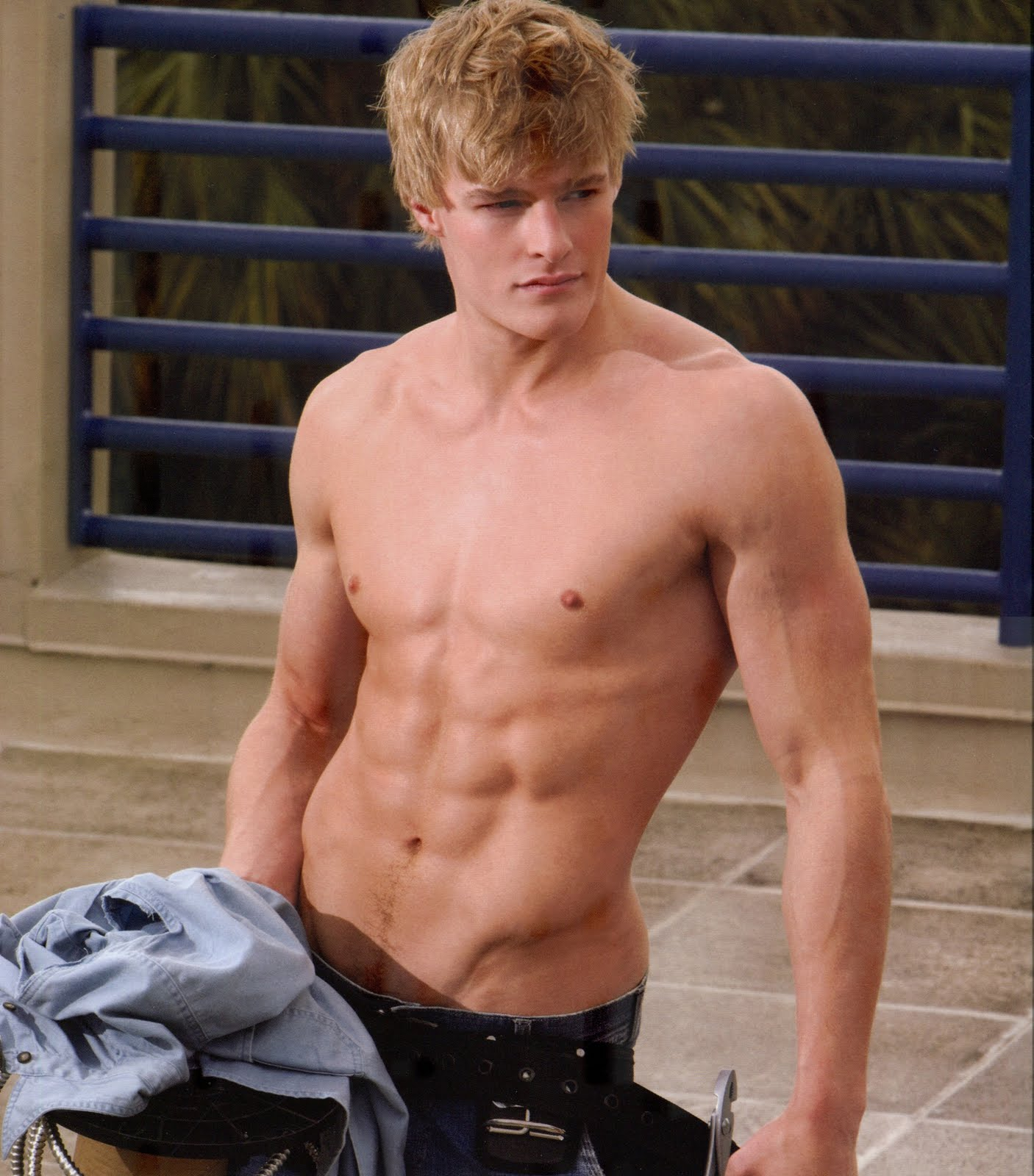 Men Just Blond Beautiful