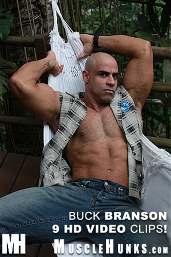 Buck Branson Hairy Muscle Daddy Hunk