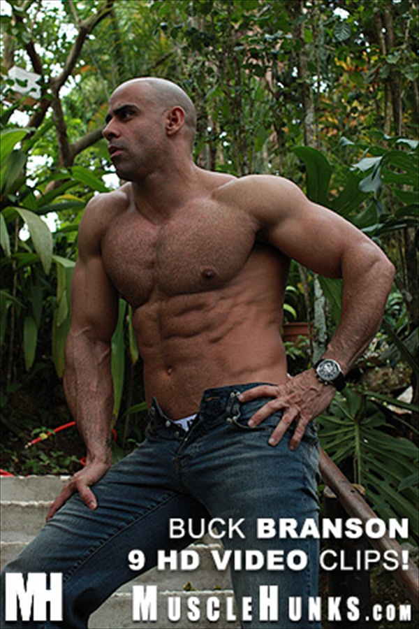 Buck Branson Hairy Muscle Daddy Hunk