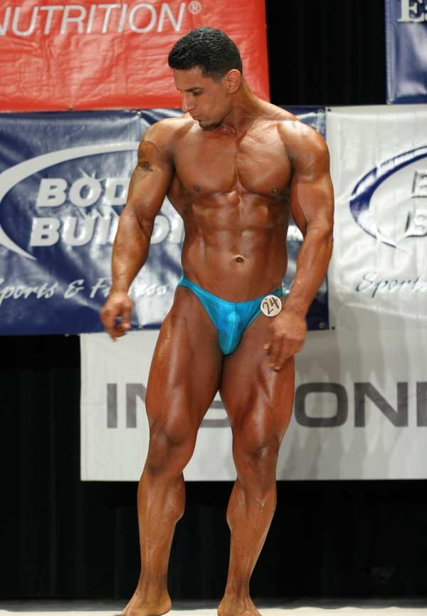 Erection in bodybuilding contest — 7