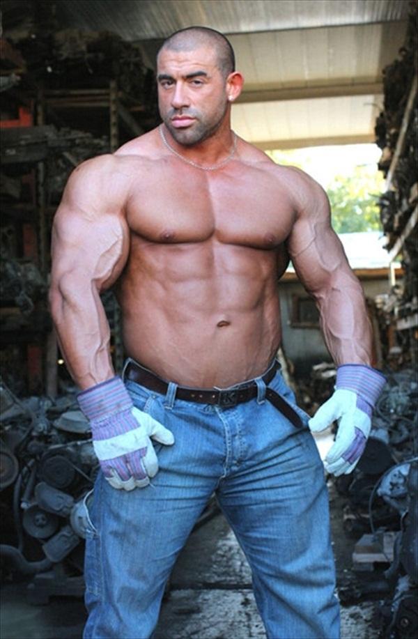 Jimmy Atienza - Super Heavyweight Spanish Champion Bodybuilder