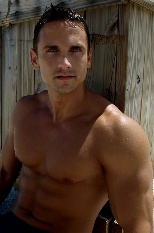 Mr David Morin - Sexy Eyes Muscle Male Model-2651