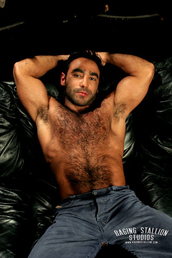 Huessein - Hairy Muscle Hunk Gallery 2